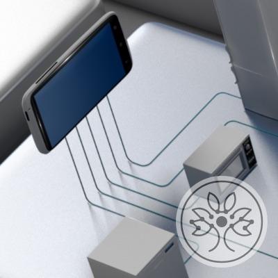 Wir arbeiten an der Verknüpfung physischer und virtuelle Gegenstände
