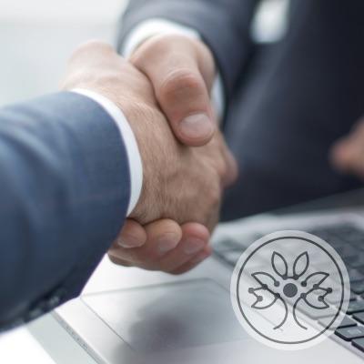 Wir arbeiten verstärkt mit Verträgen oder Urheber- und Lizenzrechten